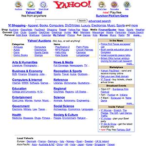 Yahoo 2001