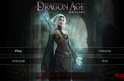 Dragon Age Origins Characters Creation Dragon Age Origins on The