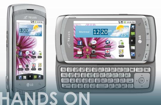 telus lg shine plus sneak peak video rgbfilter rh rgbfilter com LG Extravert Manual LG Touch Phone Operating Manual